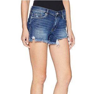 Blank NYC the Essex Classic Cut Off Jean Shorts